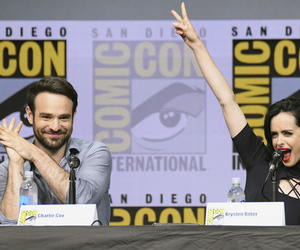 comic con, daredevil, and krysten ritter image