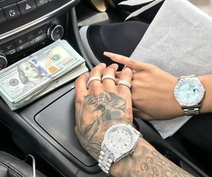 money, goals, and couple image