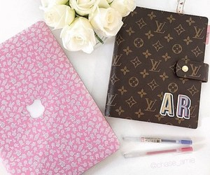fashion, flowers, and LV image
