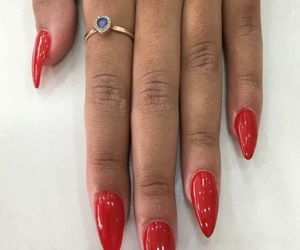 jewellery, nails, and red image