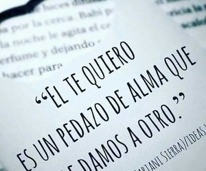 love, frases, and alma image