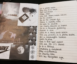 aesthetic, grunge, and journal image