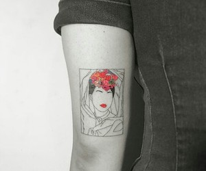 art, body, and bodyart image
