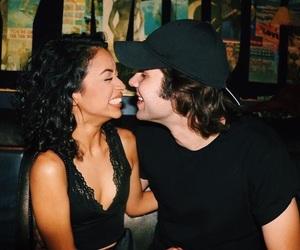 liza koshy and david dobrik image