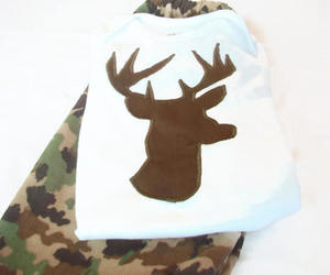 babyboy, deer, and etsy image