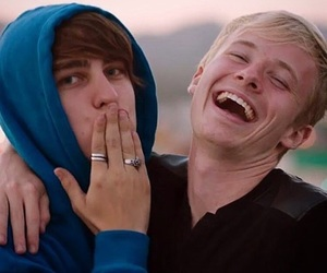 youtube, sam golbach, and sam and colby image