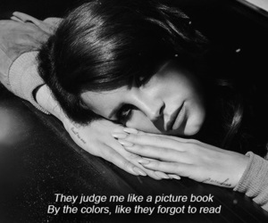lana del rey, quote, and grunge image
