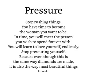 poetry, pressure, and quotes image