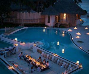 beautiful, landscape, and pool image