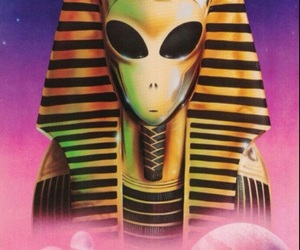 alien and egypt image