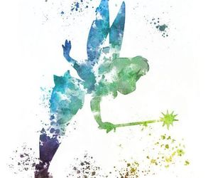 disney, tinkerbell, and art image