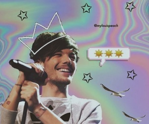 aesthetic, hologram, and louis image