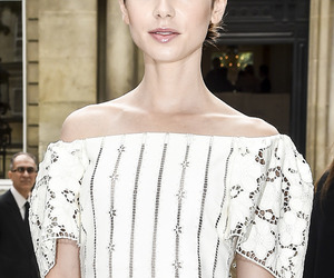 beauty, celeb, and lily collins image