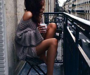 city, coffe, and fashion image