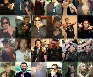 glenn, norman reedus, and the walking dead image
