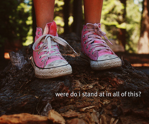 convers, girl, and message image