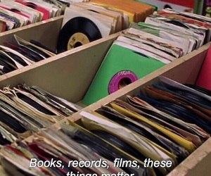 music, films, and records image