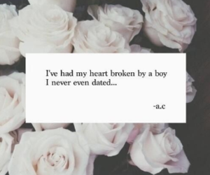 love, boy, and broken image