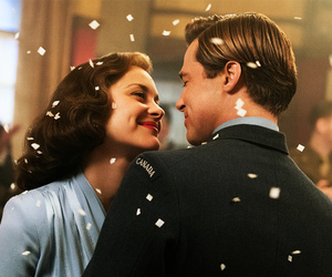 brad pitt, allied, and love image