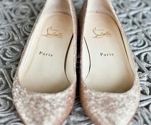 shoes, flats, and paris image