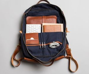 backpack, bag, and college image