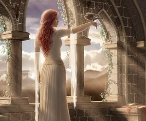art, fantasy, and princess image