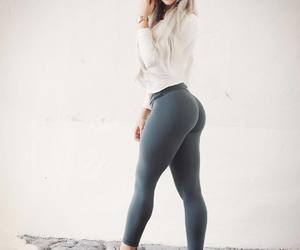 fashion, leggings, and sexy image