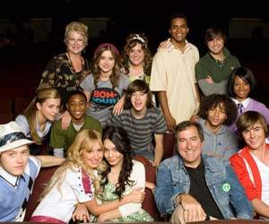 HSM, cast, and disney image