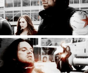 Marvel, scarlet witch, and winter soldier image