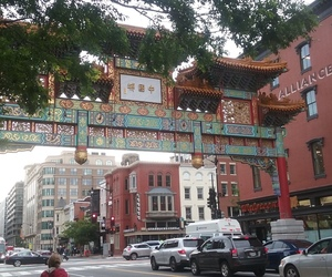 chinatown, DC, and travel image