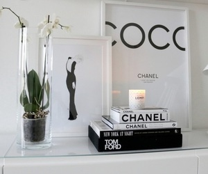 chanel, decoration, and coco image