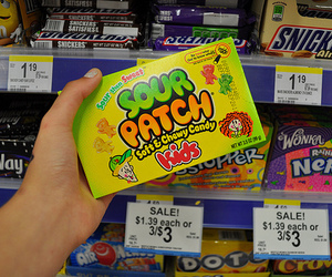 food, sweet, and sour patch image