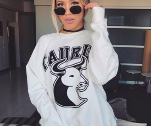 tammy hembrow, blonde, and style image
