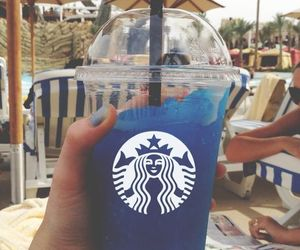 drink, starbucks, and summer image