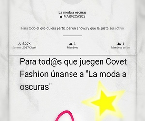 covet, fashion, and game image