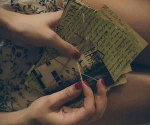 vintage, letters, and memories image