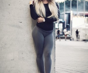 outfit, style, and tights image