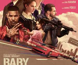 film, baby driver, and movie image