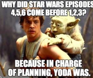star wars, yoda, and funny image