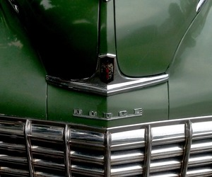 cars, dodge, and green image