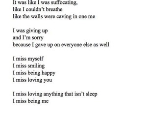 quotes, depression, and sad image