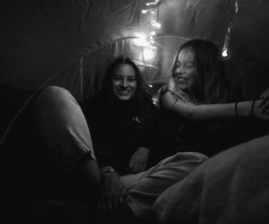 b&w, goals, and camping image
