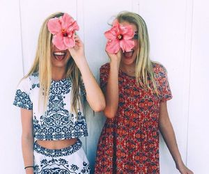 clothes, flowers, and good vibes image