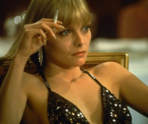 michelle pfeiffer, beauty, and scarface image