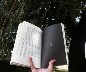bookworm, nature, and tree image