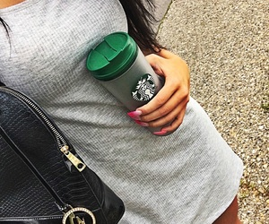 city, coffee, and green image