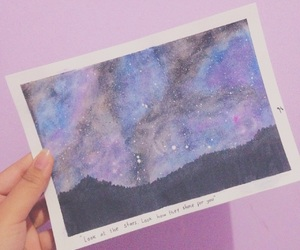 aesthetic, pink, and watercolour image
