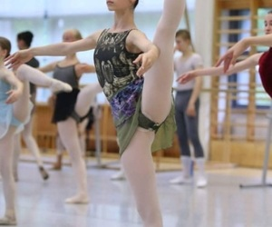 ballet, class, and dance image