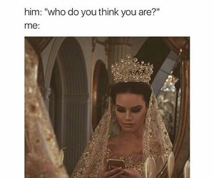 Queen, funny, and makeup image