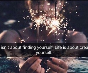 aesthetic, quotes, and sparklers image